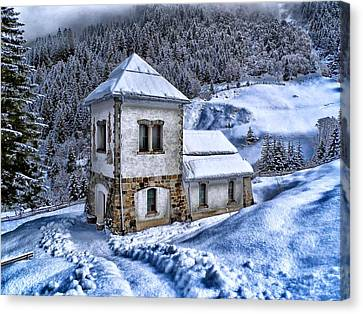 Winter In Austria Canvas Print by Movie Poster Prints