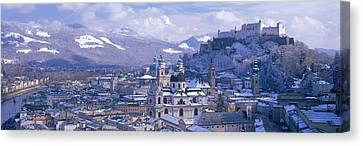 Winter, Salzburg, Austria Canvas Print by Panoramic Images