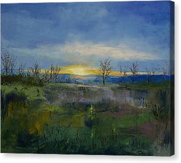Winter Solstice Canvas Print by Michael Creese
