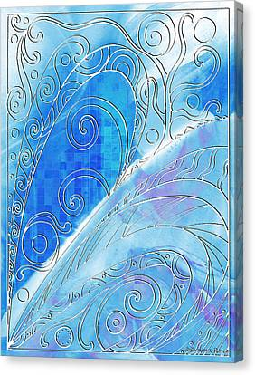 Winter Solstice  Canvas Print by Shawna Rowe
