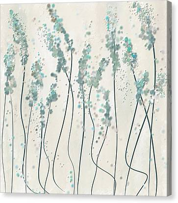 Winter Spring Canvas Print by Lourry Legarde