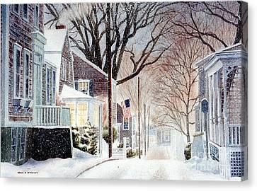 Winter Still Canvas Print by Karol Wyckoff