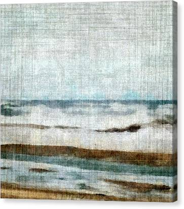 Winter Waves Canvas Print by Michelle Calkins