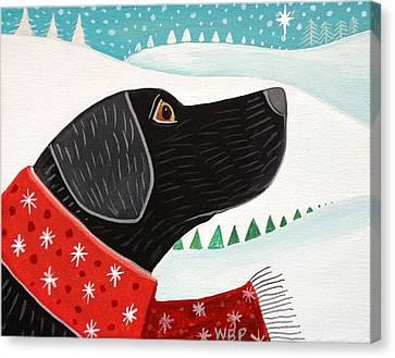 Winter Wish Canvas Print by Wendy Presseisen