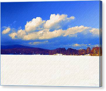 Winter Wonderland Canvas Print by Jeff Breiman