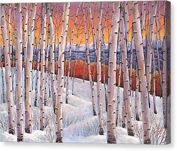 Winter's Dream Canvas Print by Johnathan Harris
