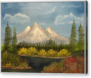 Winter's End Canvas Print by Joyce Krenson