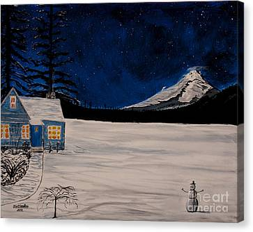 Winter's Eve Canvas Print by Ian Donley