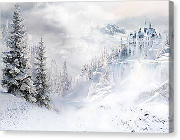 Winters Tale Canvas Print by Shanina Conway