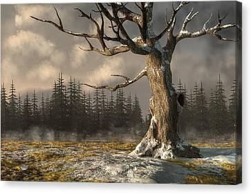 Winterscape Canvas Print by Daniel Eskridge