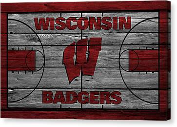 Wisconsin Badger Canvas Print by Joe Hamilton