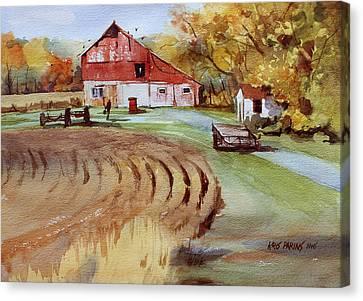 Wisconsin Barn Canvas Print by Kris Parins