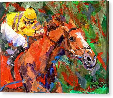 Wise Dan Canvas Print by Ron and Metro