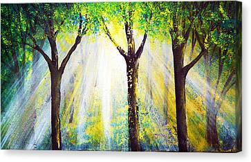 Wish Canvas Print by Ann Marie Bone