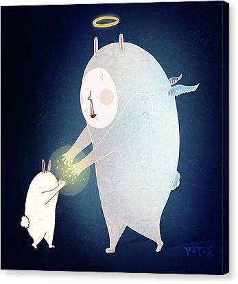 Wishing On The Stars Canvas Print by Yoyo Zhao