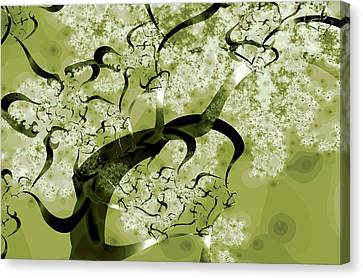 Wishing Tree Canvas Print by Anastasiya Malakhova