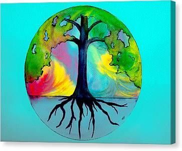 Wishing Tree Canvas Print by Brenda Owen