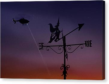 Witch Hunt Canvas Print by Richard Piper