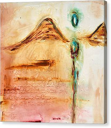 With Compassion Canvas Print by Ivan Guaderrama