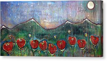 With Or Without You Canvas Print by Laurie Maves ART