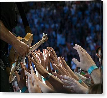 With These Hands Canvas Print by Jeff Ross