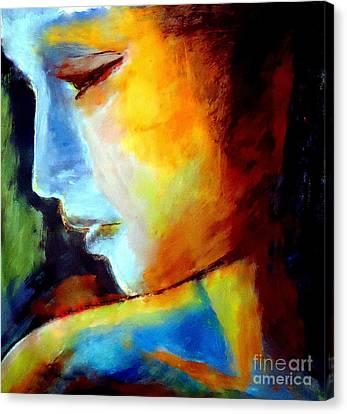 Within Canvas Print by Helena Wierzbicki