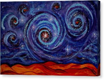 Witness Canvas Print by Kathy Peltomaa Lewis