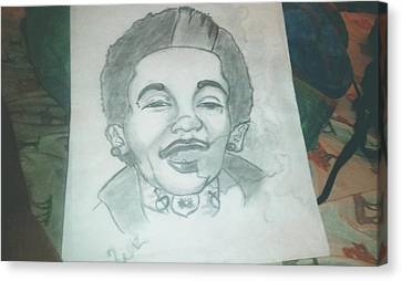Wiz Khalifa Canvas Print by Dontay  Lockett