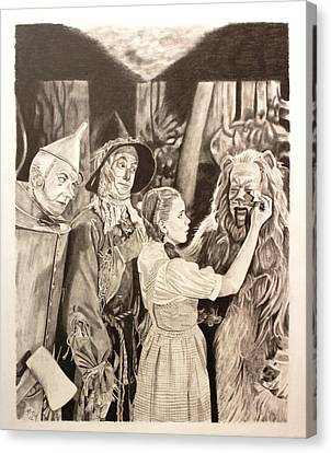 Wizard Of Oz Canvas Print by Randy Mitchell