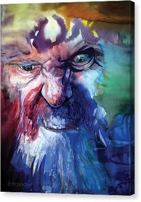 Wizzlewump Canvas Print by Frank Robert Dixon