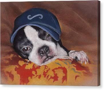 Woe Is Me Canvas Print by Pamela Humbargar