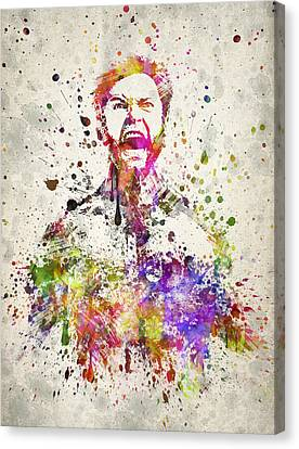Wolverine In Color Canvas Print by Aged Pixel