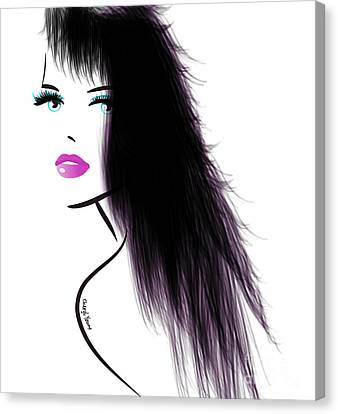 Woman 5 Canvas Print by Cheryl Young