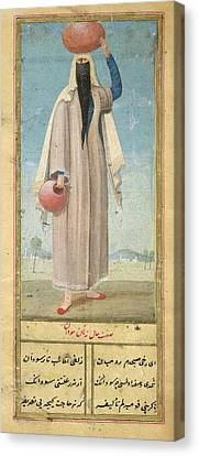 Woman Of Baghdad Canvas Print by British Library