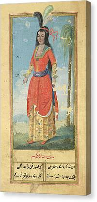 Woman Of The East Indies Canvas Print by British Library