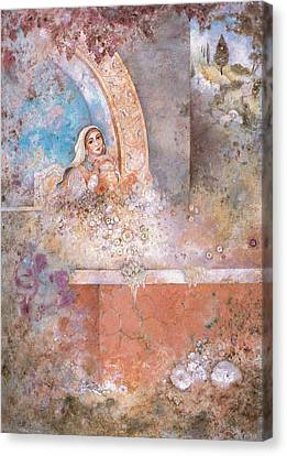 Woman Of Valor Canvas Print by Michoel Muchnik