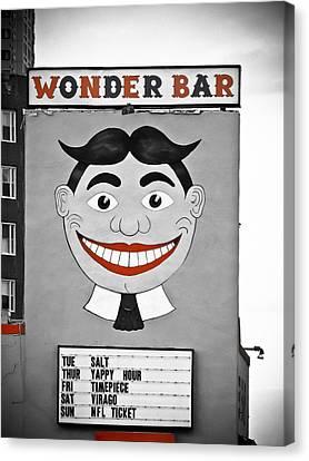Wonder Bar Canvas Print by Colleen Kammerer