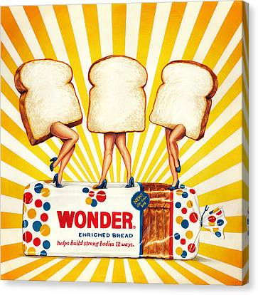 Wonder Women Canvas Print by Kelly Gilleran