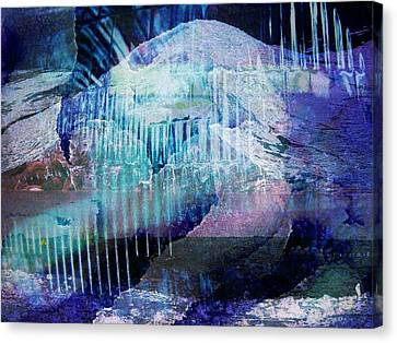 Wonderfully Cold Canvas Print by Shirley Sirois