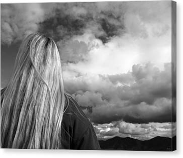 Wondering About Tomorrow Canvas Print by Glenn McCarthy Art and Photography