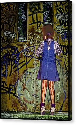 Wondering What's Inside Canvas Print by Kellice Swaggerty