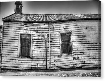 Wonky House Canvas Print by Shari Mattox