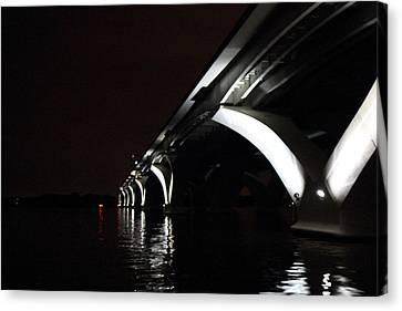 Woodrow Wilson Bridge - Washington Dc - 011319 Canvas Print by DC Photographer
