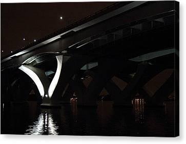 Woodrow Wilson Bridge - Washington Dc - 011368 Canvas Print by DC Photographer