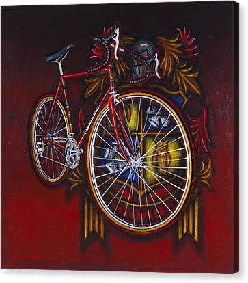 Woodrup Team 75 Canvas Print by Mark Howard Jones