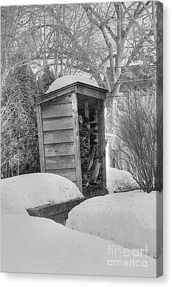 Woodshed Canvas Print by David Bearden