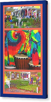 Woodstock Triptych Canvas Print by Steve Ohlsen