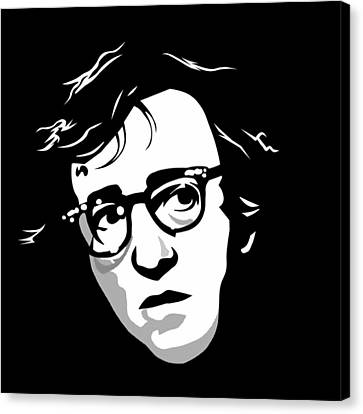 Woody Allen Canvas Print by Cool Canvas