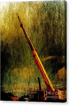 Work Of Art Canvas Print by Dave Bosse