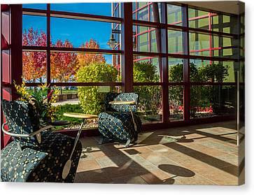 Workplace With A View Canvas Print by Gene Sherrill